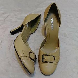 Nine West Nouvelle Leather Heels